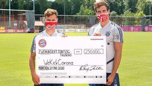 ЛЧмогут доиграть вформате «финала четырех», «Бавария» переделала клубные шарфы вмаски. Новости коронавируса