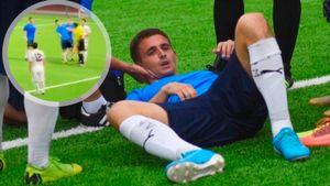 Судья ударил футболиста в лицо во время товарищеского матча с участием клуба из ПФЛ