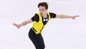 Ученик Мишина Лутфуллин выиграл юниорский Гран-при в Красноярске