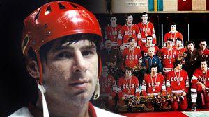Легендарный гол советского хоккеиста Харламова. 44 года назад он добил чехословаков и принес СССР золото Олимпиады