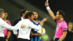 Скандальный эпизод в финале Лиги Европы: игрок «Севильи» во время ссоры с тренером «Интера» пошутил про его парик
