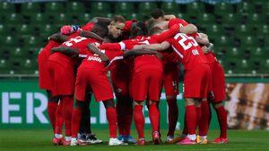 «РБ Лейпциг» в дополнительное время вырвал победу у «Вердера» и вышел в финал Кубка Германии