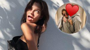 Дочь Кафельникова выложила фото с молодым человеком, засекретив его лицо