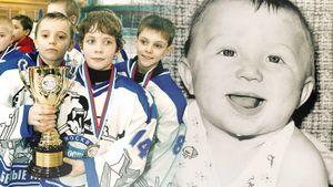 Как Овечкин выглядел вдетстве. Трогательные фото звезд русского хоккея
