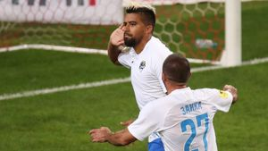 После гола в ворота «Спартака» Нобоа показал стрелку. Эквадорец ранее выступал за «Зенит»