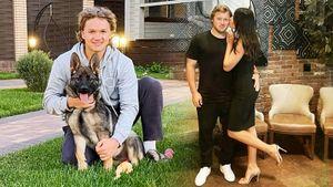 Капризов позировал с собакой, Тарасенко отдохнул в Майами. Конец отпуска у русских звезд НХЛ
