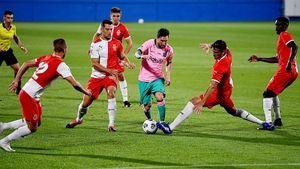Месси забил шикарный гол за «Барселону» в товарищеском матче. Видео собрало уже 4,5 млн просмотров в инстаграме