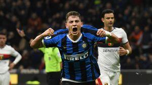Лукаку отдал пенальти 17-летнему воспитаннику «Интера». Онотпраздновал дебютный гол смамой