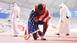 Американец Коулман— быстрейший человек напланете. Онпропустил 3 допинг теста, ноего простили