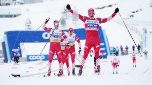Русский герой ЧМ по лыжам выиграл самый престижный марафон на планете. Теперь он лидер Кубка мира