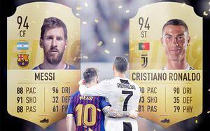 У Криштиану и Месси одинаковый рейтинг в FIFA 19. Но Роналду все равно круче