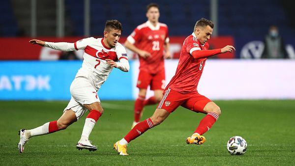 Сборная России сыграла вничью с Турцией в Лиге наций, упустив победу во втором тайме. Как это было