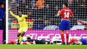 Думбия снова в огне — теперь прибил «Атлетико» в Кубке Испании. Гризманн шокирован