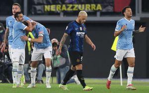 «Интер» потерпел первое поражение в сезоне, проиграв «Лацио»