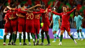 Португалия минимально одолела Голландию вфинале Лиги наций. Как это было