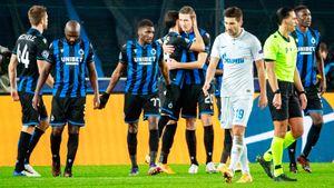 «Зенит» получил 0:3 от «Брюгге» и вылетел из еврокубков. У Семака 4-е поражение в 5 матчах
