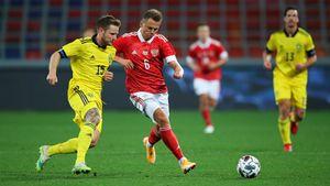 Сборная Черчесова проиграла Швеции в контрольном матче. Как это было