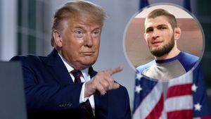 Трамп назвал Хабиба лучшим бойцом вне весовых категорий и пожелал Гэтжи удачи