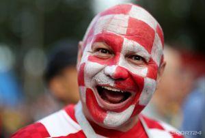 Уокер ест футболку, Модрич — на руках, хорваты любят Россию. Топ-кадры с матча Хорватия — Англия