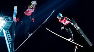 17-летняя русская прыгунья с трамплина выиграла этап Кубка мира. Кайфанул даже Дудь!