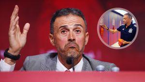 Луис Энрике каждый раз креативно представляет состав сборной Испании. На этот раз раздал каждому по маске