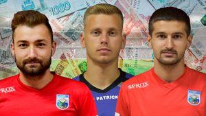 3,8 млн рублей за 1,5 года и ставки на свои матчи. Трех футболистов ПФЛ забанили за тотализатор