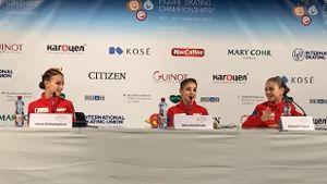 Косторной, Щербаковой иТрусовой предложили выступить наюниорскомЧМ. Они ответили сговорившись