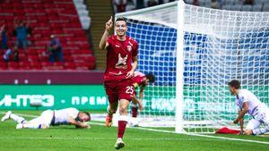 Макаров из «Рубина» — открытие сезона РПЛ. Оказался не нужен молодежке «Оренбурга» и получил шанс из-за лимита
