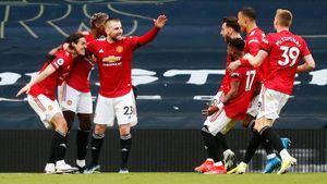 «Манчестер Юнайтед» обыграл «Тоттенхэм», проигрывая после 1-го тайма