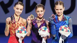 Русские фигуристки устроили шоу четверных итройных акселей вфинале Гран-при. Победила Косторная