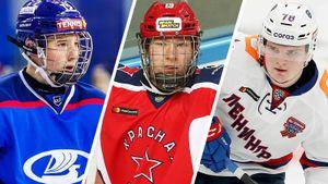 5 молодых русских талантов, которых уже ждут в Америке. Их могут выбрать в первом раунде драфта НХЛ-2021