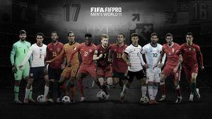 ФИФА представила символическую сборную 2020 года по версии футболистов