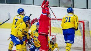 Юниорская сборная России обыграла шведов и вышла в финал Кубка Глинки/Гретцки