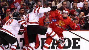 «Это была война, мы подарили стране праздник». Российская молодежка грохнула Канаду на ее льду