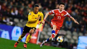 Бельгия— Россия— 3:1. Сборная Черчесова проиграла первый матч отбора Евро-2020. Как это было