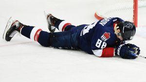 Педан о нанесении травмы Жафярову: «Никакого умысла грязно сыграть не было. Старался сыграть в тело». Видео
