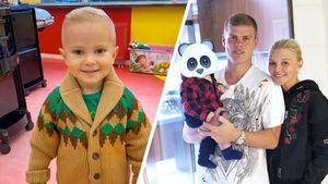 Жена Кокорина впервые показала лицо сына Майкла: фото