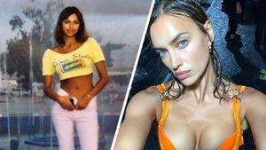 Как выглядели знаменитые русские модели в юности: фото
