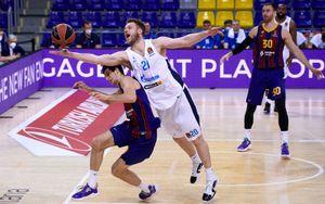 «Зенит» уступил «Барселоне» в 5-м матче четвертьфинала Евролиги и выбыл из турнира