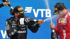 Погода в Сочи подарила невероятную гонку в Формуле-1. Это было что-то!