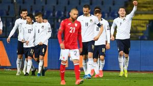 Италия победила Болгарию в гостевом матче квалификации ЧМ-2022