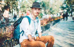 Паралимпиец устроился курьером в «Яндекс.Еду», чтобы заработать на поездку на Игры-2020: видео