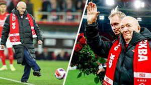 Никита Симонян нанес символический удар перед стартом матча «Спартак»— «Динамо»