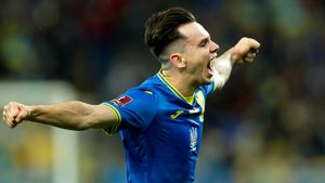Так выглядит идеальный первый гол за сборную: украинец Шапаренко роскошно вколотил Франции в девятку