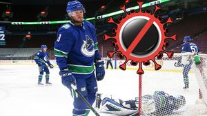 «Рвота, спазмы и обезвоживание». «Ванкувер» может не доиграть сезон НХЛ из-за вспышки коронавируса