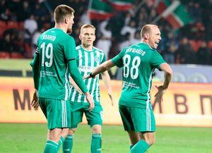 Глушаков лезгинкой отметил свой первый гол за«Ахмат» вРПЛ