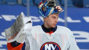«Русский бог». Эмоциональная реакция американцев на первый «сухарь» вратаря Сорокина в НХЛ