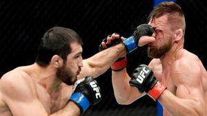 Российский боец UFC Эмеев победил поляка Заваду раздельным решением