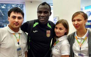«В Уфе я встречался с прекрасными девушками и пил с ними водку!» Африканец Фримпонг — о жизни в России