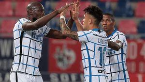 «Интер» выиграл у «Болоньи» и нарастил отрыв от «Милана» до 8 очков